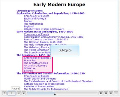 screenshot of CLIO Notes tutorial